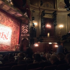 Broadway! So rotten, or Something Rotten!